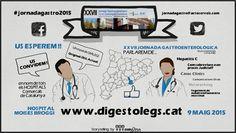 Invitación a las 27 Jornadas Gestroenterológicas Comarcales Catalanas http://actoserveis.com/jornadagastro2015/