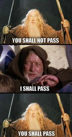 Gandalf and Obi-Wan