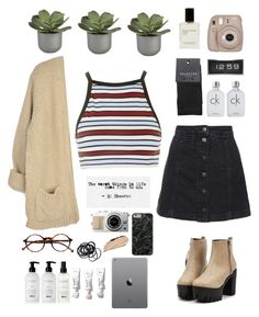 """""""I love Ed Sheeran"""" by joycereina ❤ liked on Polyvore featuring Topshop, Motel, Crate and Barrel, NARS Cosmetics, Fujifilm, SELECTED, H&M, LEFF Amsterdam, Calvin Klein and Retrò"""