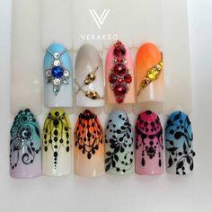 Базовый курс по росписи ногтей #вераксо_кружево