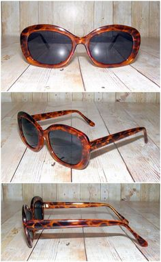 863945bc0b Vintage 90s deadstock 50s style oversize square sunglasses