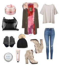 """""""Untitled #110"""" by tyra-breann on Polyvore featuring Topshop, Michael Antonio, Mr & Mrs Italy, Uniqlo, Kara, Bobbi Brown Cosmetics, Bliss, women's clothing, women's fashion and women"""