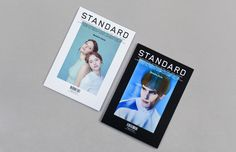"""My name is Standard. Standard Magazine, a french magazine about fashion and culture. Number 41 / The """"Duo"""" issue: two covers, a """"fashion"""" one and a """"culture"""" one. Art direction, design and typeface by My name is."""