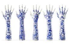 Delfts blauw tattoo design