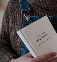 sweaters and overalls | little books | read | minimal books | cozy