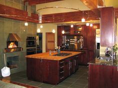 Good Life by the Slice - Dreamy Kitchen Appliances  on HGTVthis is my kind of space. I absolutely love this kitchen