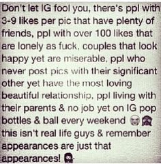 Thats what im screaming, so true about happy relationships faking it for social media. Smh all so sad