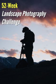 Landscape Photography Challenge - Photography, Landscape photography, Photography tips Photography Challenge, Photography Classes, Photography For Beginners, Photography Camera, Photography Website, Outdoor Photography, Photography Tutorials, Creative Photography, Nature Photography
