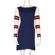 Mary Quant Wool 1960s Mini Dress | From a collection of rare vintage day dresses at https://www.1stdibs.com/fashion/clothing/day-dresses/