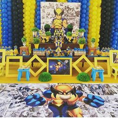 Wolverine party ❤️ #asfestasmaisdesejadas @asfestasmaisdesejadas