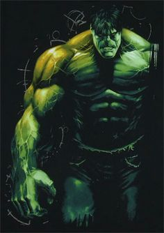 If you haven't got it by now - huge comic book fan. Love me some of the Incredible Hulk.