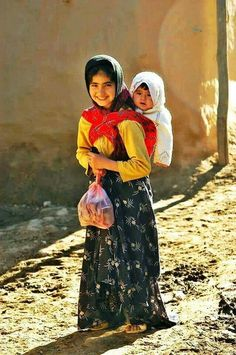 Kurdish mother.