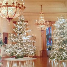 Christmas at the White House, The East Room, 1985