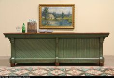 Country Store Antique Counter or Island
