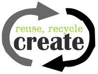 Reuse recycle create logo