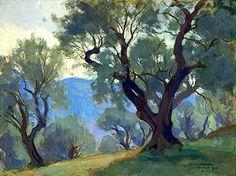Wilho Sjöström (Finland 1873-1944)  Park (1925) oil on canvas 55.5 x 73.5 cm  LAWRENCE LEE MAGNUSON