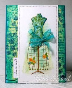 MIX16 - Dressform by dini - Cards and Paper Crafts at Splitcoaststampers