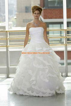 Festliche Prinzessin Hochzeitskleider aus Organza