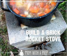 Build a Brick Rocket