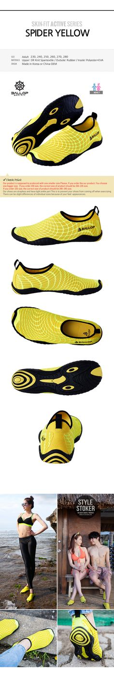 Yoga Made In Korea Aqua Shoes  Swimming Surfing Fishing
