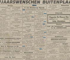 Nieuwjaarswensen Krantentitel: Nieuwe Tilburgsche Courant Datum, editie:31-12-1940