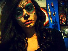 My face makeup :)
