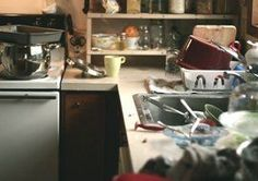 Don't let your house end up looking like this! Snag these 6 Household Cleaning Printable Coupons to take control of the mess in your house while saving money! Dc Vibe, Messy Kitchen, Dirty Kitchen, Kitchen Hacks, Kitchen Sink, It Goes On, Back Home, Cooking Tips, Food Tips