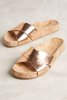 3d90832fd618 Guilhermina Callala Cork Slides Slide Sandals
