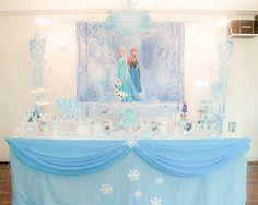 Frozen Baby Shower Bo | Frozen Theme Decoration Party – Decoracao Frozen!