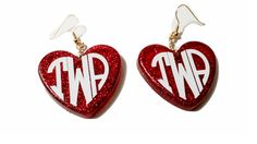 Free Giveaway: Monogrammed Heart Earrings    Enter Here: http://www.giveawaytab.com/mob.php?pageid=1449769531905591