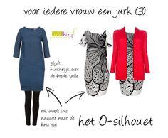 Voor iedere vrouw een jurk - Het O-silhouet