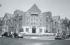 Stockwell Hall, University of Michigan. My room freshman year is the window above the front door and one to the right.