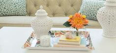 Decorum | Stylish Decorative Home Accessories | Bali Hai Butler Tray