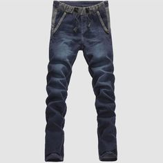 22.99$  Buy here - http://ali7ol.shopchina.info/go.php?t=32735244543 - 2017 New arrival men's denim pants   fashion straight pant high quality jeans for man denim casual trousers 22.99$ #magazineonlinebeautiful