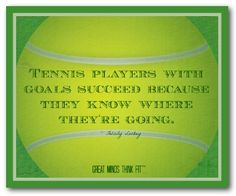 #Tennis #quotes on #sports #motivational #posters