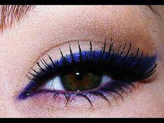 I use it all the time as if it was a must!!  :)  bold royal blue and purple eyeliner.