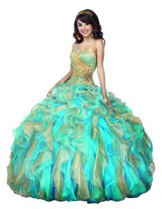 Quinceañera Disney Royal Ball #sweet16 #quinceanera #bling #fashion #gown #disney #belle #jasmine #ariel #princess
