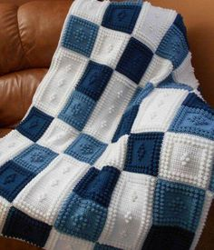 PEACEFUL pattern for crocheted blanket This crocheted blanket is an original design that is easy to complete. The entire blanket requires only three crochet stitches – chain stitch, single crochet and the popcorn stitch. Crochet Chain Stitch, Bobble Stitch, Single Crochet Stitch, Crochet Stitches, Crochet Unique, Easy Crochet, Cotton Crochet, Crochet Crafts, Crochet Projects