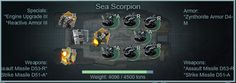 Sea Scorpion Fleet Builds in Battle Pirates
