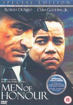 Men of Honour 2001 ~ Cuba Gooding Jr., Robert De Niro, Charlize Theron. Director, George Tillman Jr.