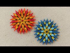 Кулон в технике уичоль / Бисероплетение / Мастер класс - YouTube Seed Bead Earrings, Beaded Earrings, Seed Beads, Beaded Bracelets, Bead Jewellery, Pendant Jewelry, Beaded Jewelry Patterns, Beaded Ornaments, Flower Necklace