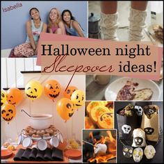"""Halloween Sleepover Ideas!"" by halloween-tips ❤ liked on Polyvore"