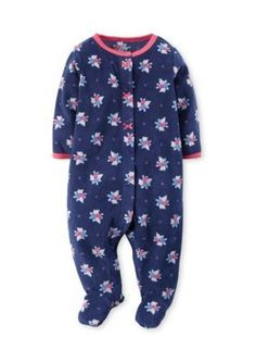 Carters  Scattered Floral Sleep and Play