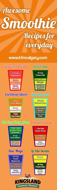 8 Healthy 3-Ingredient Smoothies   Kingsland Farmers Market