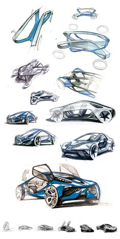 Renault Fly Concept by Konrad Cholewka, via Behance