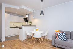 Wnętrza - portfolio - Mała otwarta wąska kuchnia, styl nowoczesny - zdjęcie od Michał Młynarczyk - Fotografia wnętrz