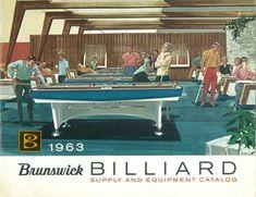 vintage pool hall   Classic Billiards - Antique Pool Tables & Antique Pool Table Parts ...