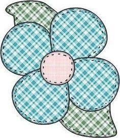 DANI PATCHWORK: Flores Moldes: