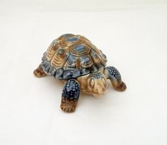Wade Porcelain Tortoise pin dish/trinket Box by thesecretcupboard, £15.00