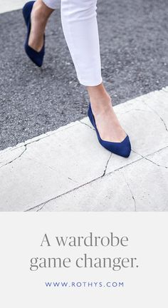 Versatile flats that support your fast-paced lifestyle. Cute Shoes, Me Too Shoes, Fashion Shoes, Fashion Outfits, Womens Fashion, Pointed Toe Flats, Shoe Closet, Style Me, Shoes Style
